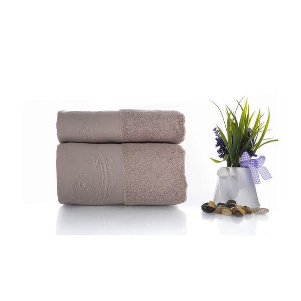 Zestaw 2 ręczników Indigo V1, 50x90 cm + 70x140 cm