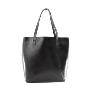 Czarna torba skórzana Chica Borse Greta