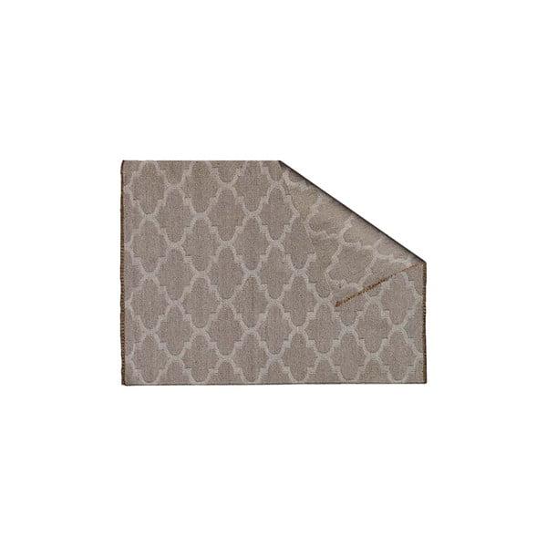 Dywan wełniany Kilim no. 809, 120x180 cm, naturalny