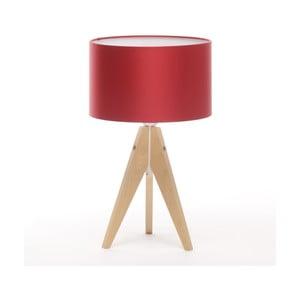 Lampa stołowa Artista Birch/Red, 28 cm
