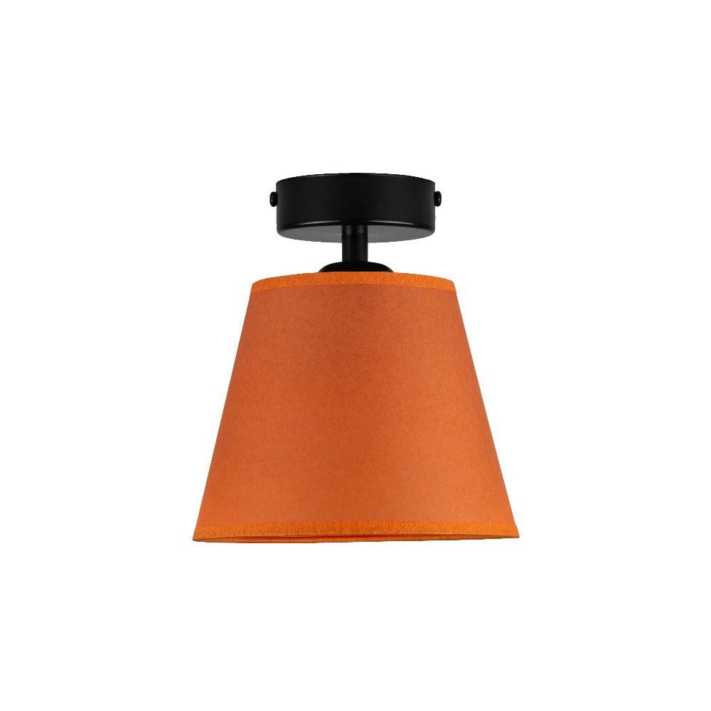 Pomarańczowa lampa sufitowa Sotto Luce IRO Parchment, ⌀ 16 cm