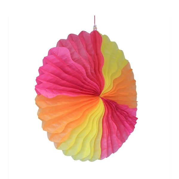 Papierowa dekoracja Honeycomb Fiesta