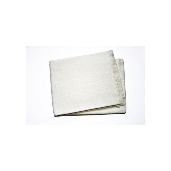 Lekki koc Skyline Cream, 140x180 cm