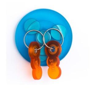 Samoprzylepny wieszak na klucze z magnesem Tiroasegno Blue