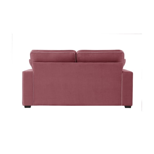 Sofa dwuosobowa Jalouse Maison Serena, różowa