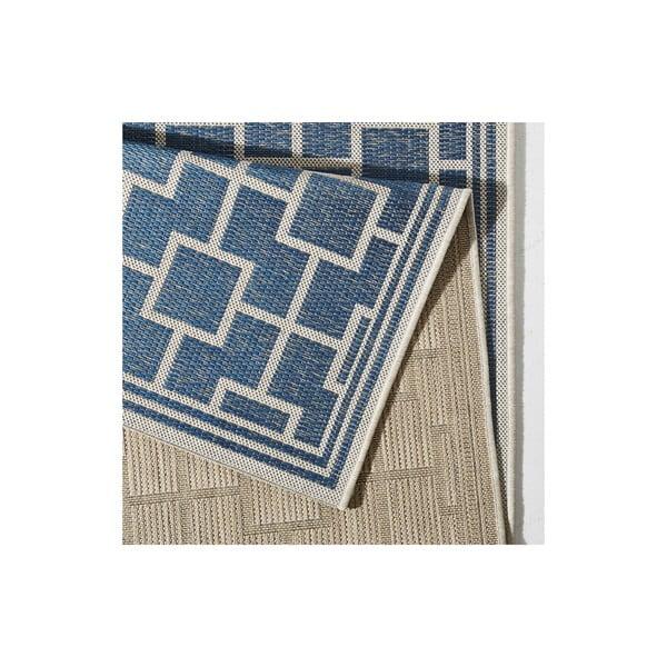 Dywan nadający się na zewnątrz Botany 160x230 cm, niebieski