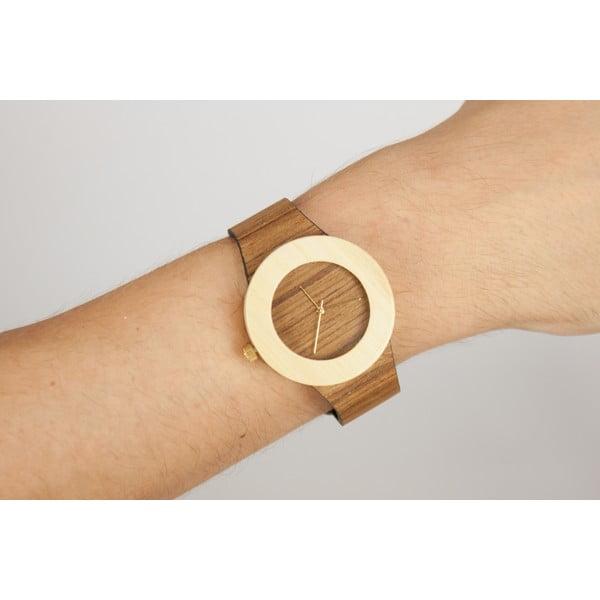 Drewniany zegarek Analog Watch Co. Teak & Bamboo
