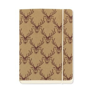 Notes A6 Go Stationery Stag Chunky