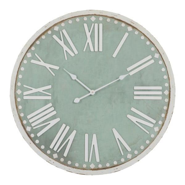 Zegar ścienny Rom Num Green, 80x80 cm