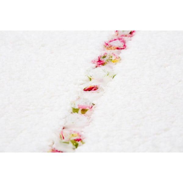 Dywanik łazienkowy Frenésie Cream, 65x80 cm