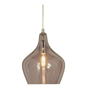 Szara lampa wisząca Scan Lamps Melina