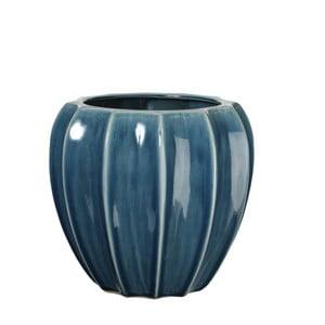 Wazon ceramiczny Iza Blue, 22 cm