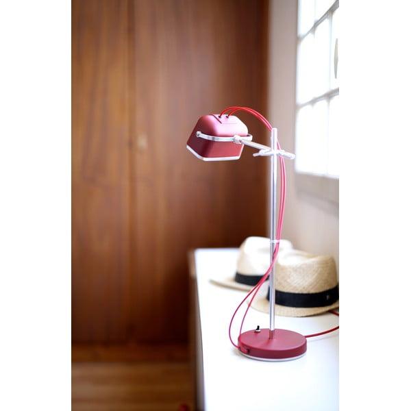 Lampa stołowa Mob, czerwona