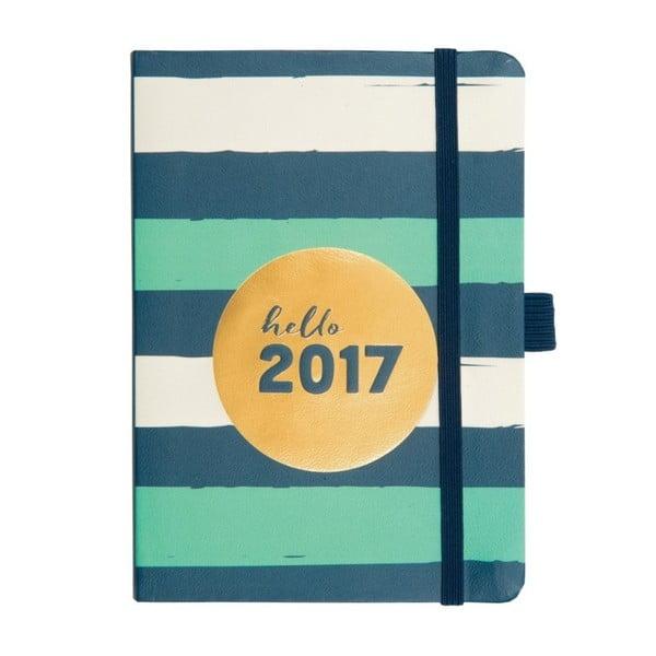 Kalendarz Busy B Metallic To Do 2017