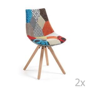 Zestaw 2 krzeseł do jadalni La Forma Armony