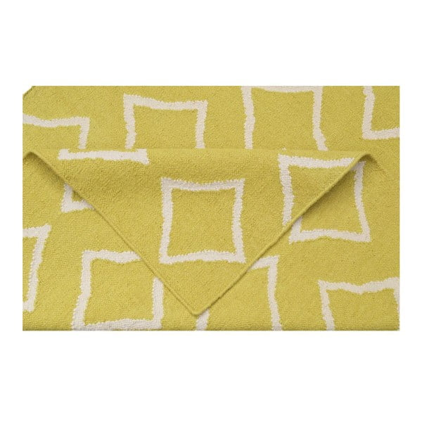 Dywan ręcznie tkany Kilim JP 11175 Yellow, 120x180 cm