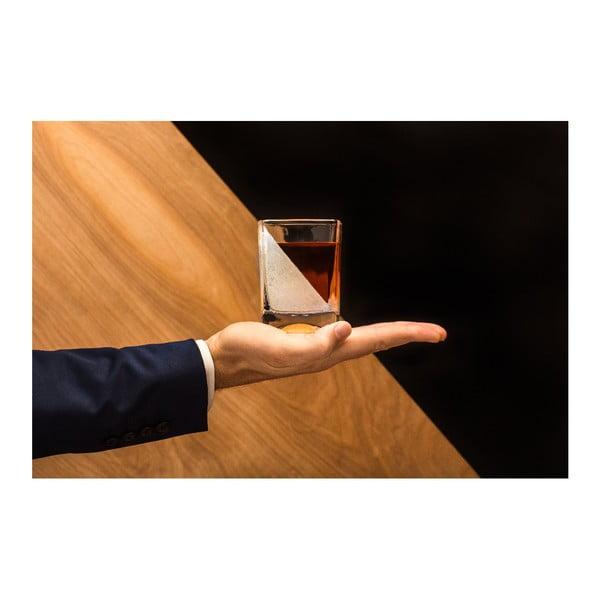Szklanka do whisky z formą do lodu Corkcicle Whiskey Wedge
