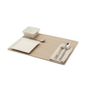 Taca Lunch 46x34 cm, jasna