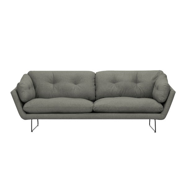 Szarozielona 3-osobowa sofa Windsor & Co Sofas Comet