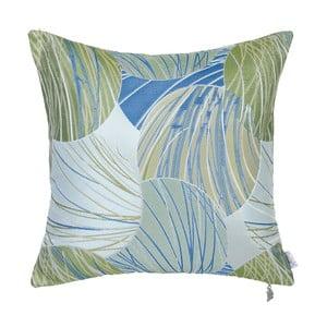 Poszewka na poduszkę Apolena Lina, niebiesko-zielona