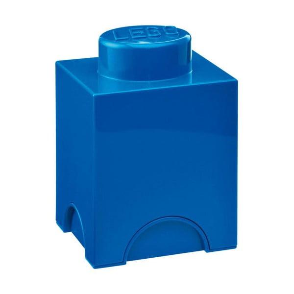 Niebieski mały pojemnik LEGO®