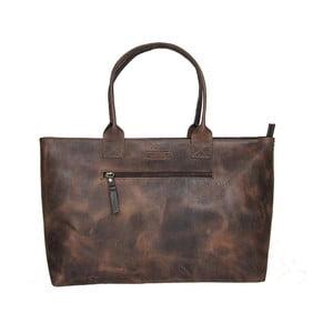 Ciemnobrązowa skórzana torebka vintage O My Bag Madam Rose