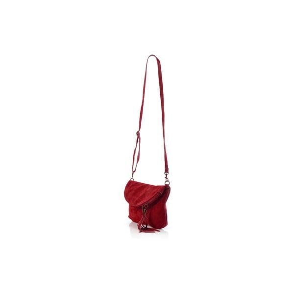 Skórzana torebka Juliette, czerwona
