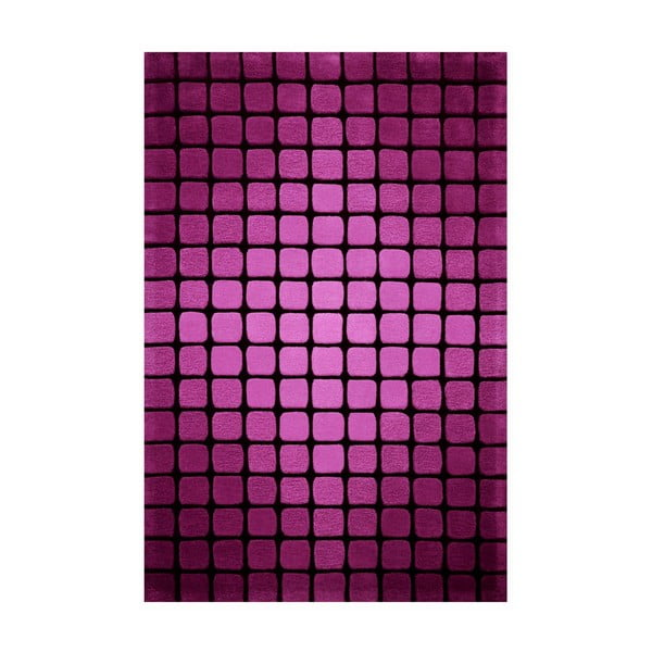 Dywan Casablanca Square 140x200 cm, różowy
