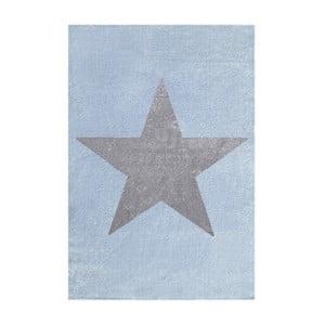 Niebiesko-szary dywan dziecięcy Happy Rugs Superstar, 120x180 cm