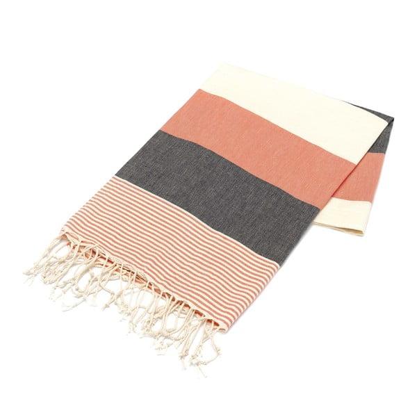 Ręcznik hammam American Fouta Coral, 100x180 cm