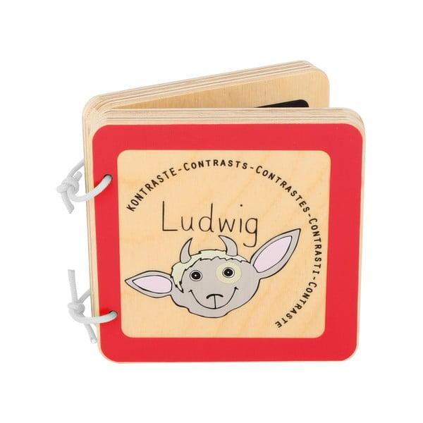 Drewniana książeczka dla dzieci Legler Ludwig the Billy Goat