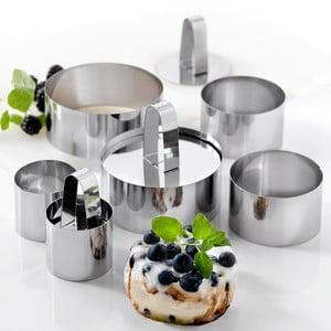 Zestaw 9 foremek do serwowania Steel Function Parma