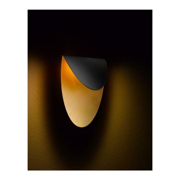 Lampa ścienna Lips Black