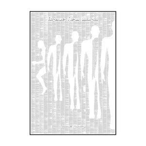 """Plakat """"Nowy wspaniały świat"""", 70x100 cm"""