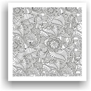 Obraz do kolorowania 83, 50x50 cm