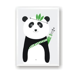 Plakat Nord & Co Panda, 21 x 29 cm