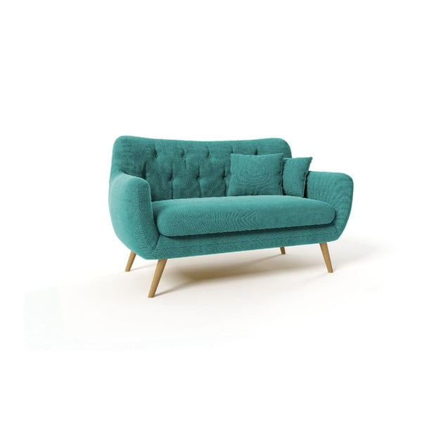 Dwuosobowa sofa Renne, niebieska