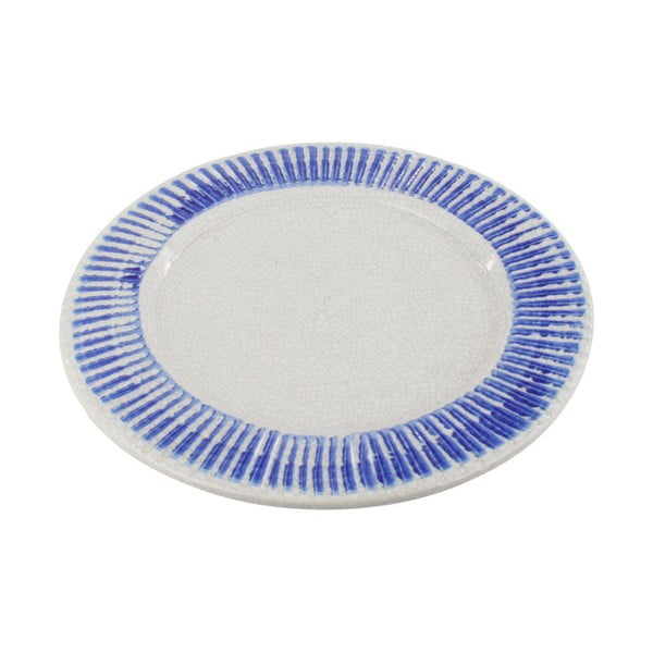 Talerz ceramiczny InArt Stripes, 40,5 cm