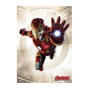 Plakat na blasze Age of Ultron Power Poses - Iron Man