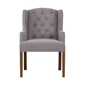 Szaroniebieskie krzesło Rodier Liberty