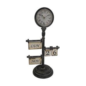 Zegar stołowy z kalendarzem Antic Line