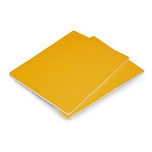 Zestaw 2 żółtych bloków Moleskine Volant