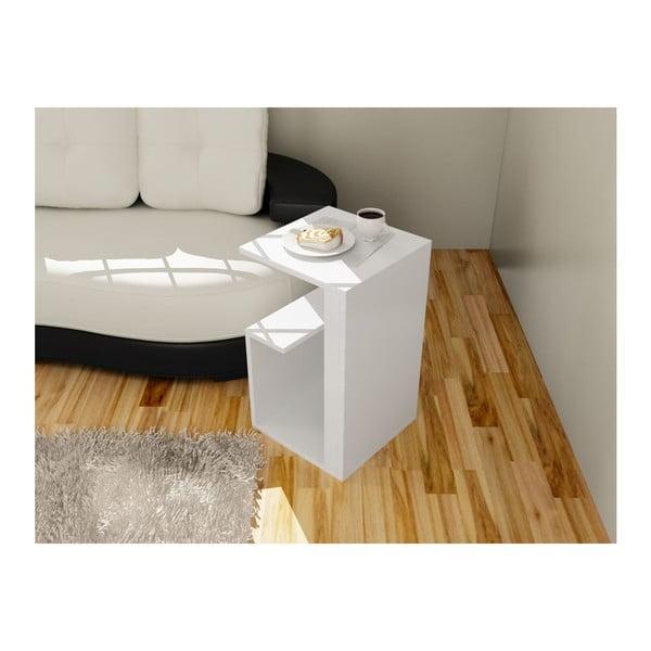 Wielofunkcyjny stolik kawowy Menekse White