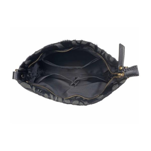 Skórzana torebka Moon Fan Black