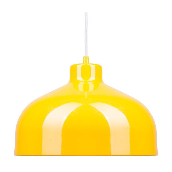 Żółta lampa wisząca Loft You B&B, 44 cm
