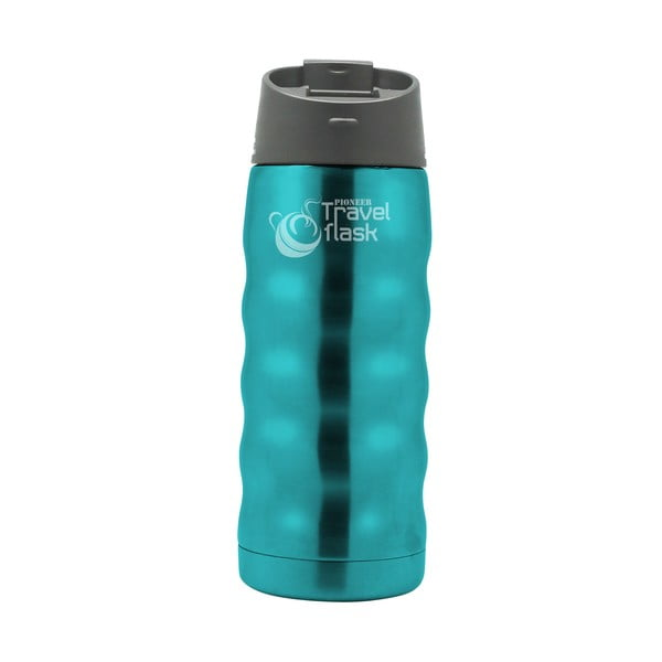 Podróżna butelka termiczna Pioneer Blue, 0.35 l