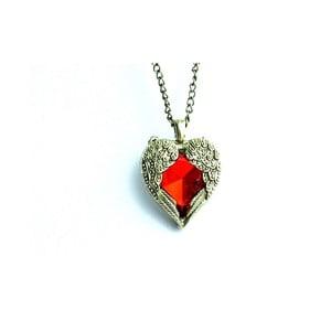 Naszyjnik Red Heart