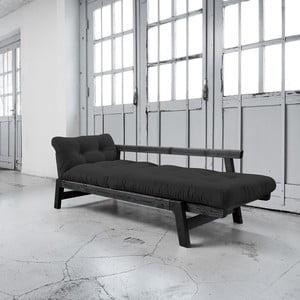 Sofa rozkładana Karup Step Black/Grey