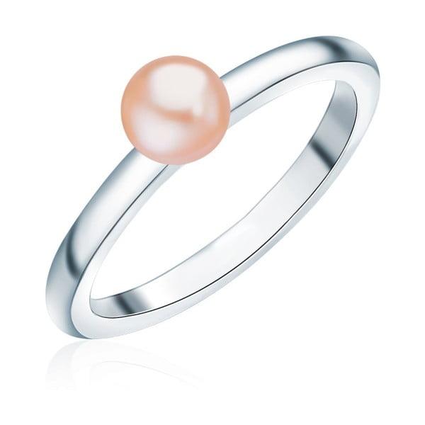 Pierścionek z perłą Nova Pearls Copenhagen Io, rozm. 52