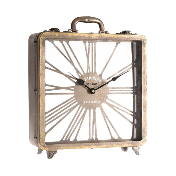 Zegar Clock in Gold